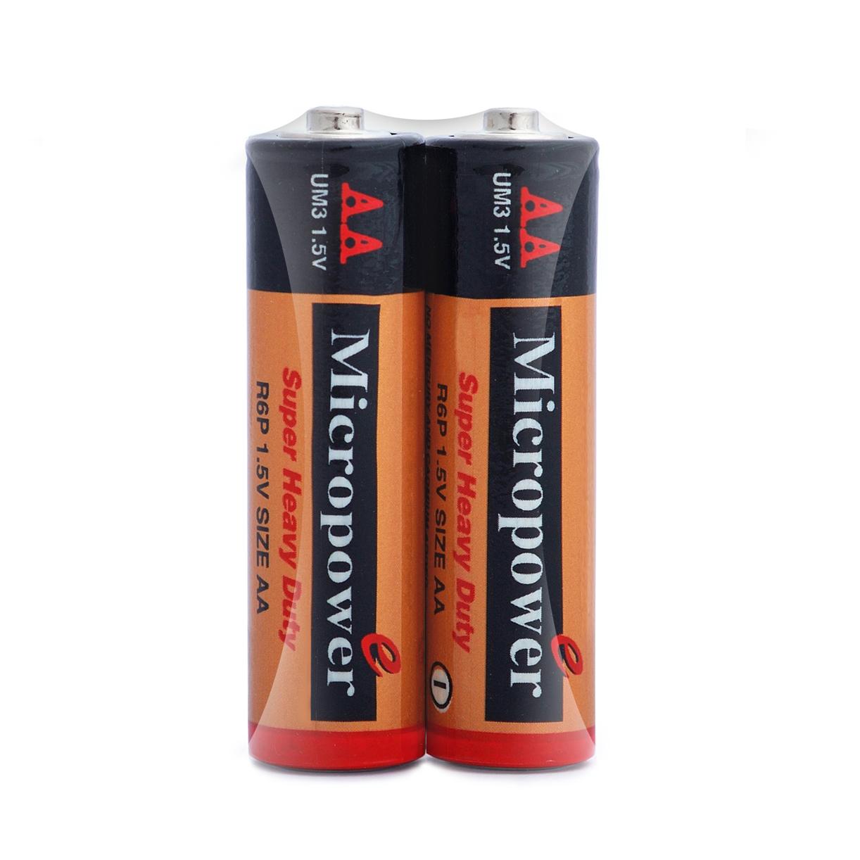 باتری کربن زینک قلمی شیرینک 2 تایی